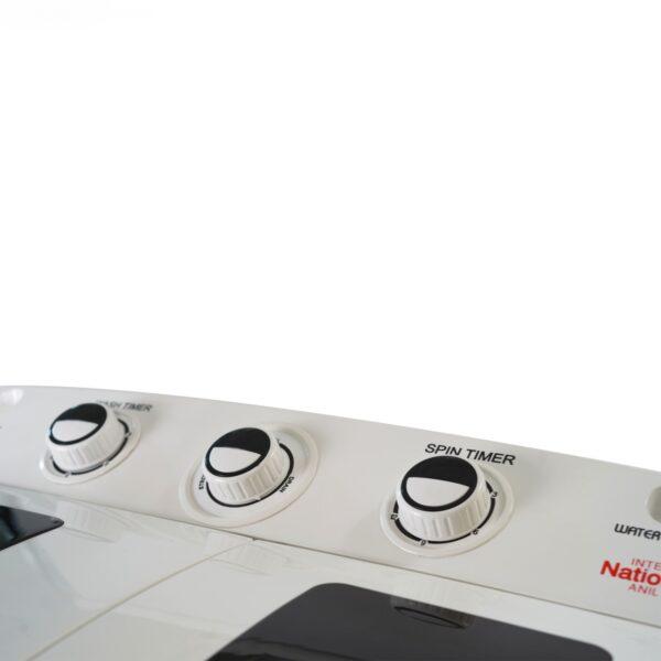 لباسشویی دوقلو اینترنشنال آنیل مدل 10700 ظرفیت 10.5 کیلوگرم